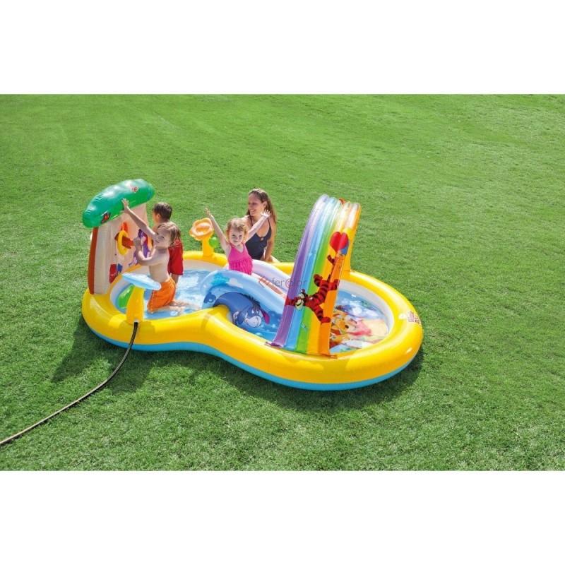 Piscina Gonfiabile Con Scivolo Bambini Intex Playcenter Winnie The Poo 57136 Expertshop